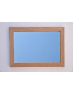 Miroir cadre chêne