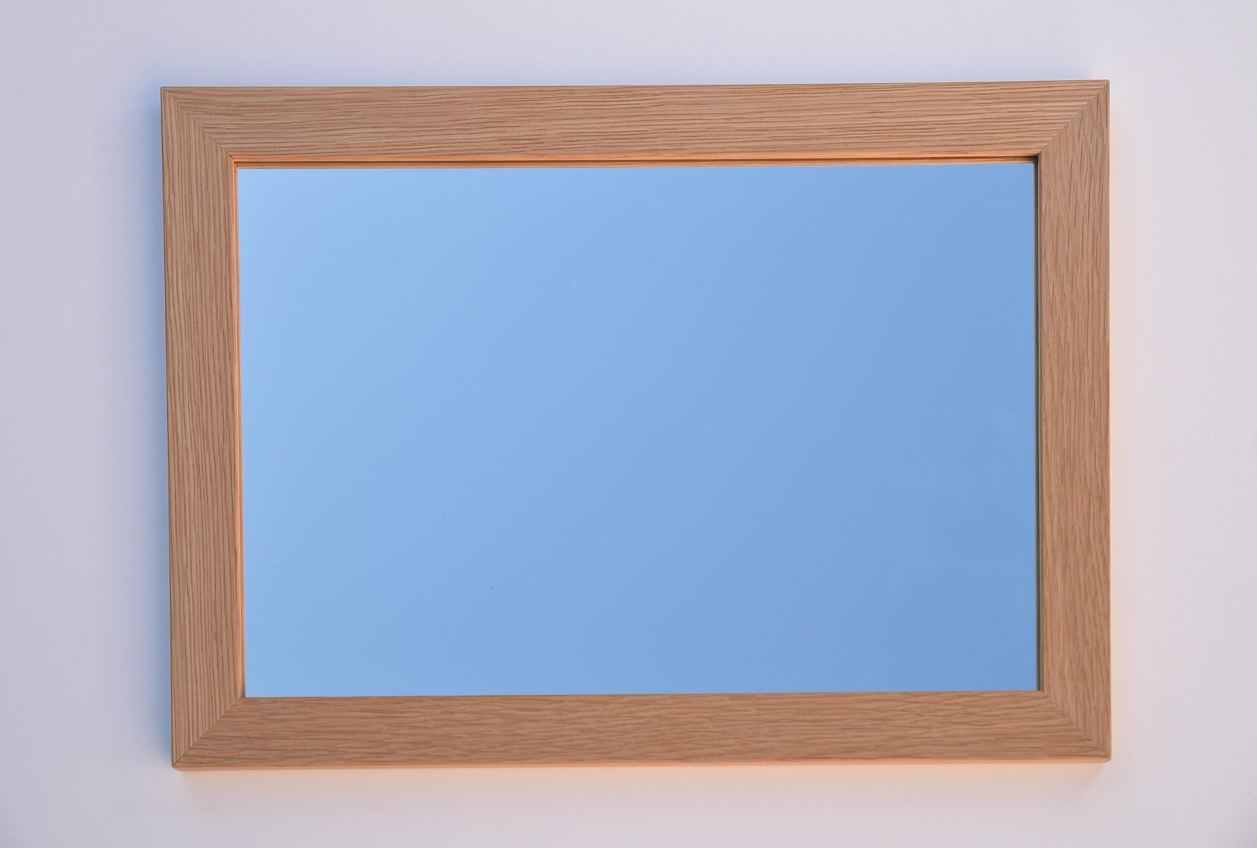 112 miroir biseaute sans cadre radiateur miroir for Miroir 90x60
