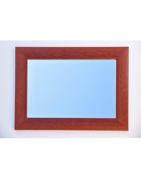 Miroir cadre marron