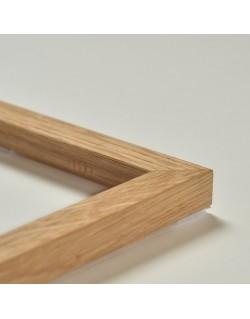 Cadre en chêne naturel (1,5 cm)