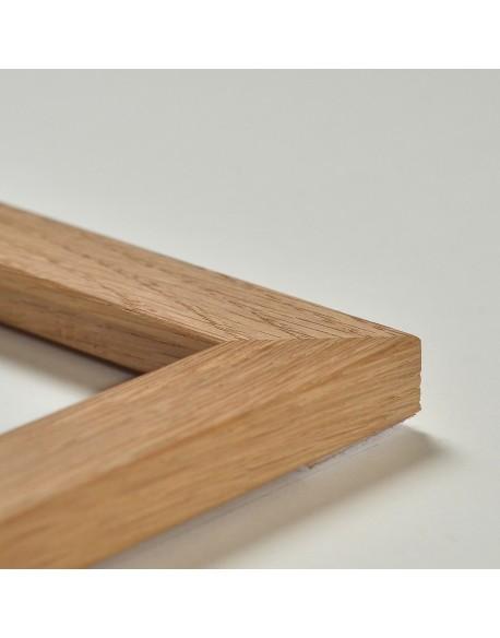 Cadre en chêne naturel (2,5 cm)
