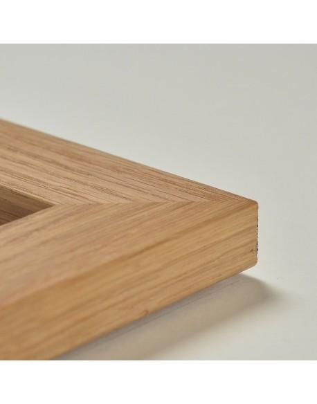 Cadre en chêne naturel (4 cm)