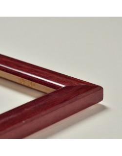 Cadre brillant veiné (2,3 cm) - 6 coloris