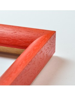 Cadre arrondi rouge